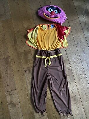 £7 • Buy Kids 7-8 Deluxe Animal The Muppets Drummer Tv Film Fancy Dress Costume Outfit