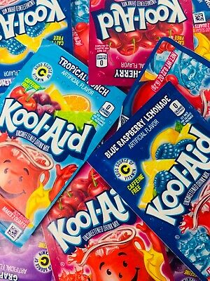 £5.19 • Buy Kool Aid Singles To Go Sachets 🇺🇸 YOU PICK 10 FLAVOURS 🌟 FREE UK POSTAGE🌟