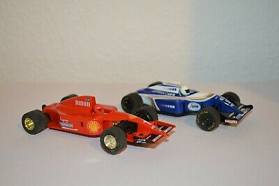£12.99 • Buy Two Hornby Scalextric Formula 1 Cars, Renault & Fiat.