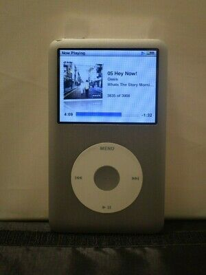 £89.99 • Buy Apple IPod Classic 160GB Silver - Good Condition - A1238