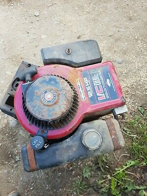 £200 • Buy Ride On Lawn Mower 12.5 HP Briggs & And Stratton Petrol Engine I/c Red Top