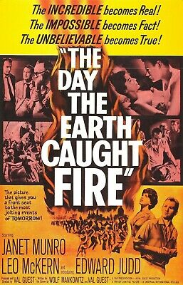 £2.95 • Buy The Day The Earth Caught Fire (1961) Edward Judd. Public Domain Film.