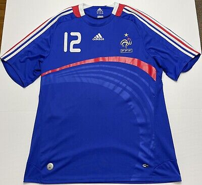 £24.07 • Buy Thierry Henry #12 Adidas Football Soccer Shirt France 09/07 National Jersey XL