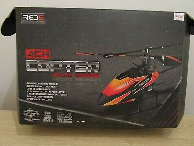 £10.99 • Buy Red5 4 Channel Remote Control Copter Micro Series - No V911