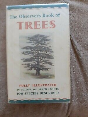 £7.99 • Buy Observer's Book Of Trees