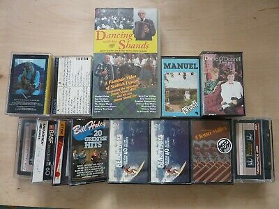£7 • Buy Jimmy Shand Video And Various Cassettes