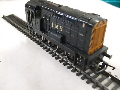 £18.50 • Buy  Hornby 0-6-0  Class 08 Diesel Shunter With Good Going Mech In LMS Black