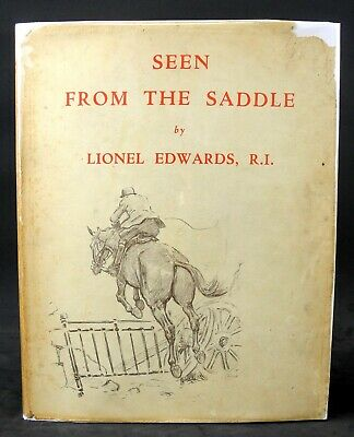 £56.60 • Buy Seen From The Saddle By Lionel Edwards - 1937 - Fox Hunting