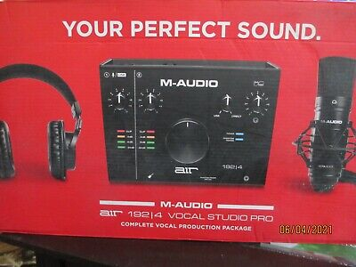 $199 • Buy M-Audio Air 192 - 4 Vocal Studio Pro Complete Vocal Production Package