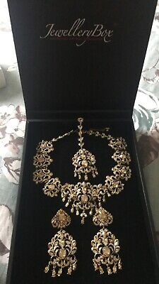 £250 • Buy Swarovski Crystal Bridal Set From Jewellery Box Indian RRP £350 OFFERS WELCOME