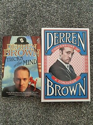 £1.99 • Buy Derren Brown Books: Tricks Of The Mind + Confessions Of A Conjuror