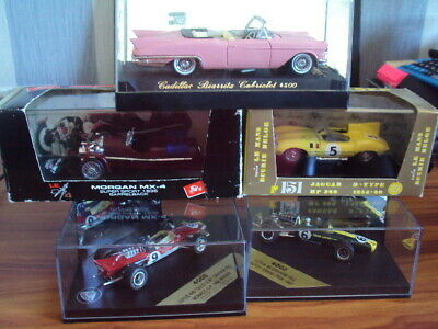 £12.50 • Buy Small Collection Of Brumm / Solido / Heritage Racing Model Cars !!