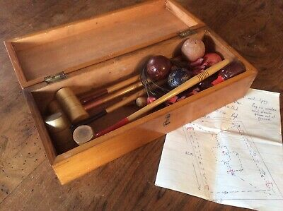£65 • Buy Table Croquet Set, Early 20th Century