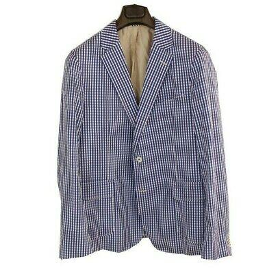 £49.99 • Buy Gant Rugger Gingham Check Jacket 42 EU-52 Cotton Sports Jacket Made In Portugal