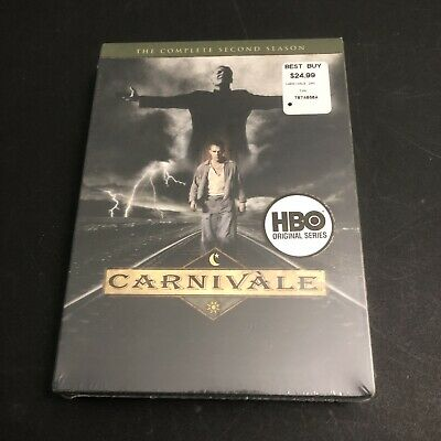 £16.99 • Buy Carnivale - The Complete Second Season (DVD, 6-Disc Set) New, Sealed In Box