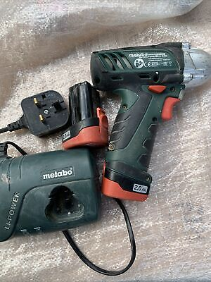 £85 • Buy Metabo Powermaxx  SSD Impact Drill  10.8V With 2X Baterries& Charger
