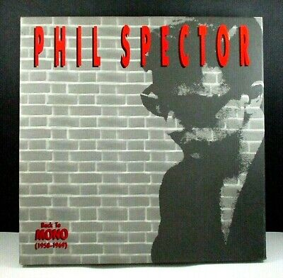 £72.74 • Buy Phil Spector BACK TO MONO (1958-1969) 4-CD Box Set, 96-Pg Book, ABKCO (1991) OOP