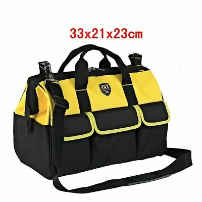£49.59 • Buy 600D Electrician Tool Hand Bags Hardware Holder Belt Oxford Box 13in 33x21x23cm