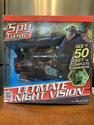 £24.06 • Buy Spy Gear Ultimate Night Vision By Wild Planet NIP Infrared Technology Adjustabl
