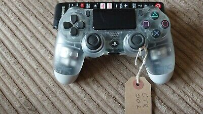 AU64.57 • Buy Genuine Sony PS4 V2 Controller Custom White And Clear