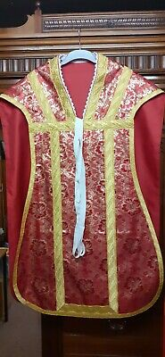 £300 • Buy Roman Planet Red Chasuble Mass