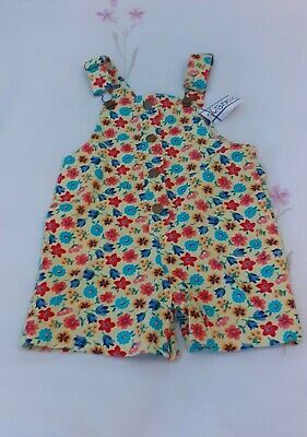 £1.50 • Buy Girls Floral Dungarees Age 2-3 BNWT