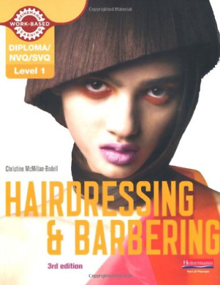 £33.78 • Buy  -Level 1 (Nvq/Svq) Certificate In Hairdressing And Barbering Candidat BOOK NEUF