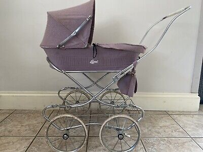 £35 • Buy Dolls Pram Vintage By Luxi With Matching Raincover And Nappy Bag