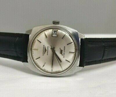 £262.98 • Buy Vintage LONGINES ULTRA CHRON Date Silver Dial   70s Swiss Made Men's Watch