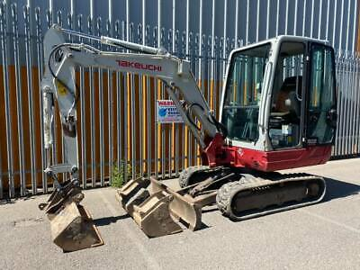 £17495 • Buy Takeuchi TB228 Mini Digger Excavator 2011 With Quickhitch And Buckets