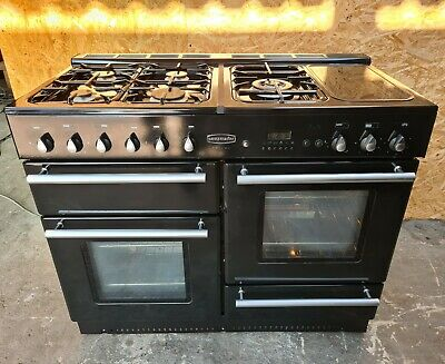 £590 • Buy Rangemaster Toledo 110 Black All Gas - DELIVERY AVAILABLE