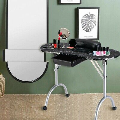 £85.17 • Buy Manicure Nail Table Portable Station Desk