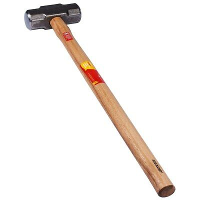£18.99 • Buy 3.2KG 7lb LUMP SLEDGE HAMMER WITH HICKORY SHAFT HANDLE A1900