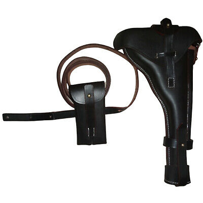 £64.79 • Buy German WWI Artillery Luger Leather Holster W/Stock Straps & Take Tool P08 8  D24