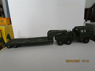 £159 • Buy French Dinky Toys Military 890 Berliet Tank Transporter Truck BOXED