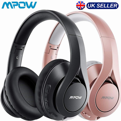 £21.89 • Buy Mpow 059 Lite Bluetooth Headphones Over Ear W/ Mic Stereo Wired Wireless Headset