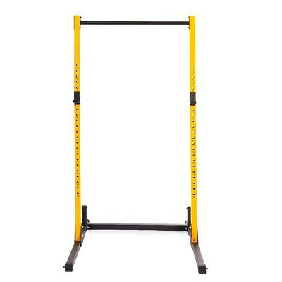 $ CDN259.99 • Buy PRISP Adjustable Squat Rack With Pull-Up Bar; Weight Stand Cage Home Gym Fitness