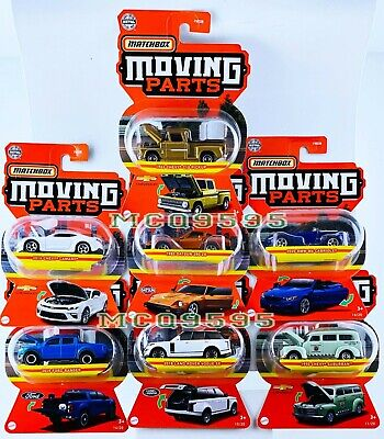 $26.99 • Buy Matchbox 2021 Moving Parts Complete Set 7 Car Datsun Chevy Camaro Ford Bmw