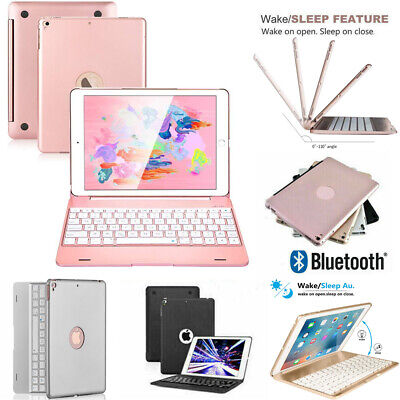 AU18.59 • Buy For IPad 5/6/7/8th Gen Pro 9.7 10.5 Air 1/2/3 Bluetooth Keyboard With Stand Case