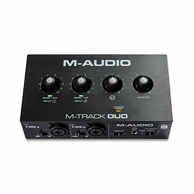 $99.19 • Buy M-Audio M-Track Duo – USB Audio Interface For Recording Streaming And Podcast...