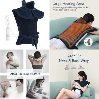 £32.99 • Buy Maxkare Electric Heating Pad Neck Shoulder And Back Heating Wrap Back Pain, Sorn
