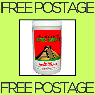 AU38.90 • Buy NEW Aztec Secret, Indian Healing Clay, Face Mask, Pore Cleansing - 2 Lbs 908 G