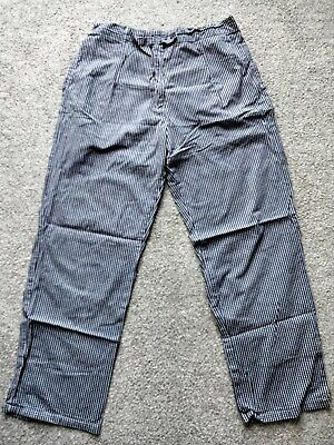 £3 • Buy Ladies Chef Trousers Blue Check 36 Inch Waist Great Condition
