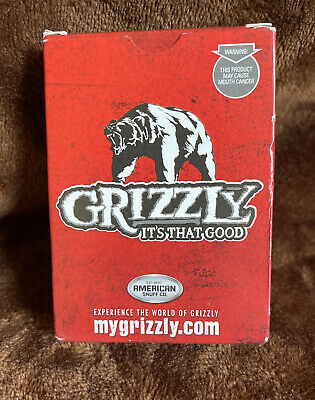 $ CDN6.61 • Buy Grizzly Snuff Chew Playing Cards American Snuff Co. Advertising Sealed New Deck