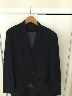 £50 • Buy Blue Morning Suit/Wedding Tails With Waistcoat And Cravat