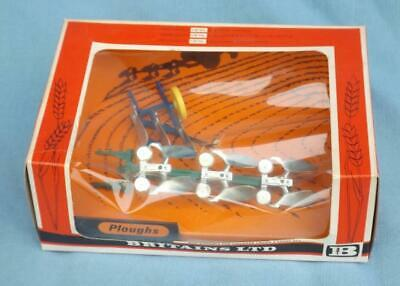 £30 • Buy Vintage Boxed 1970s Britains 9546 Ploughs Mint In Box