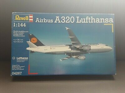 £10 • Buy Revell Scale 1:144  Nr 04267 Lufthansa Airbus A320 Model Kit