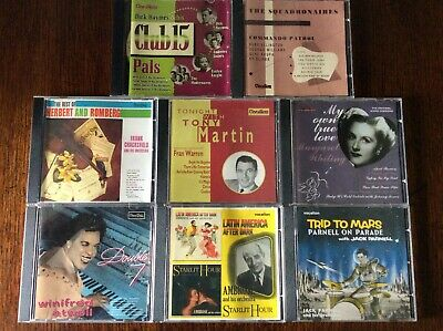 £5.99 • Buy Various Artists 8 Cd,s On The Vocalion Label Like New