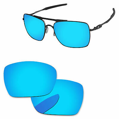 £9.19 • Buy PapaViva Ice Blue Polarized Replacement Lenses For-Oakley Deviation OO4061