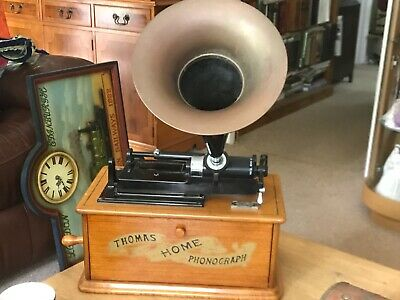 £59.99 • Buy Spirit Of St. Louis Reproduction Thomas Home Phonograph, Radio & Tape Player